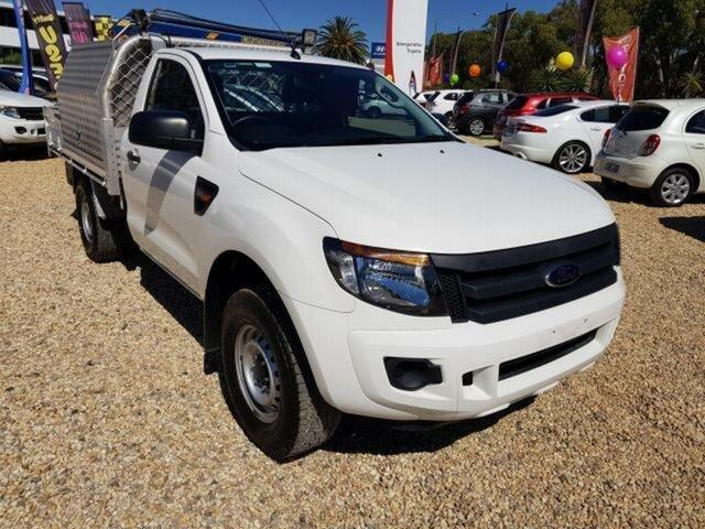 Used Ford Ranger XL 3.2 (4x4), Wangaratta, 2013 Ford Ranger XL 3.2 (4x4) Cab Chassis