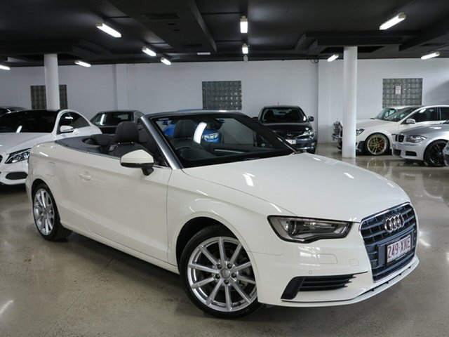 Used Audi A3 Attraction S tronic, Albion, 2015 Audi A3 Attraction S tronic Cabriolet