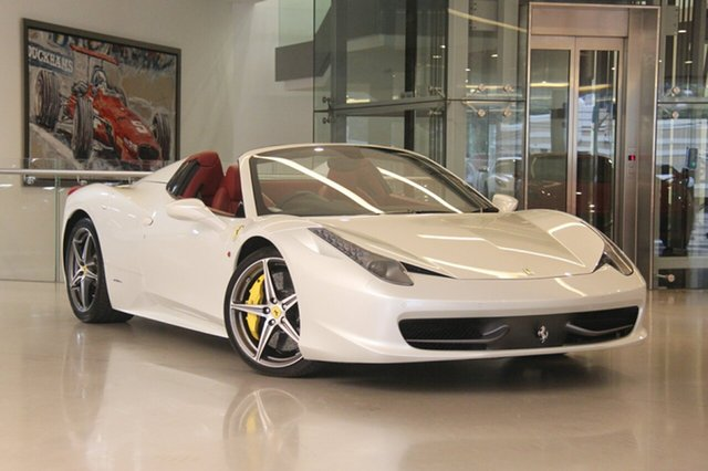 Used Ferrari 458 Spider DCT, Waterloo, 2013 Ferrari 458 Spider DCT Convertible