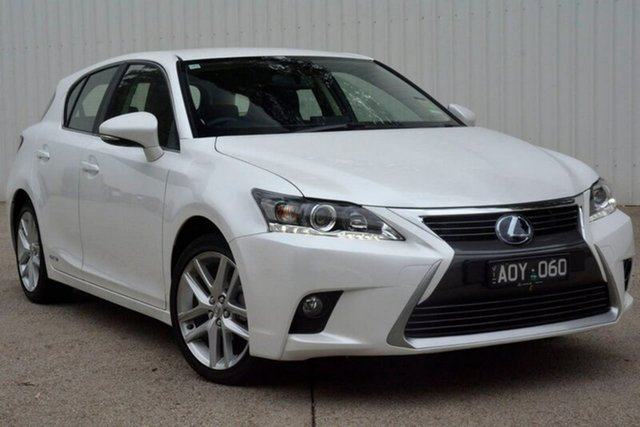 Demonstrator, Demo, Near New Lexus CT200H Luxury, Elsternwick, 2017 Lexus CT200H Luxury Hatchback