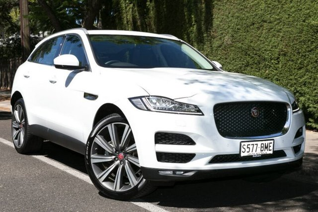 Demonstrator, Demo, Near New Jaguar F-PACE 30d AWD Portfolio, Hawthorn, 2017 Jaguar F-PACE 30d AWD Portfolio Wagon