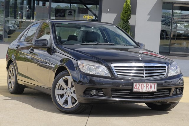 Used Mercedes-Benz C200 Kompressor Classic, Moorooka, Brisbane, 2009 Mercedes-Benz C200 Kompressor Classic Sedan