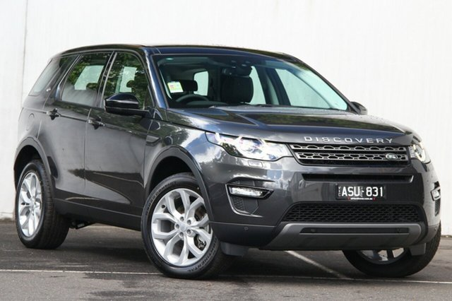 Demonstrator, Demo, Near New Land Rover Discovery Sport TD4 132kW SE, Malvern, 2017 Land Rover Discovery Sport TD4 132kW SE Wagon
