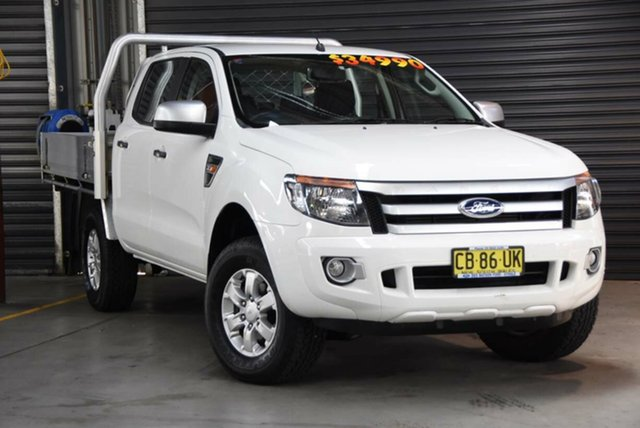 Used Ford Ranger XL Double Cab, Southport, 2015 Ford Ranger XL Double Cab Cab Chassis