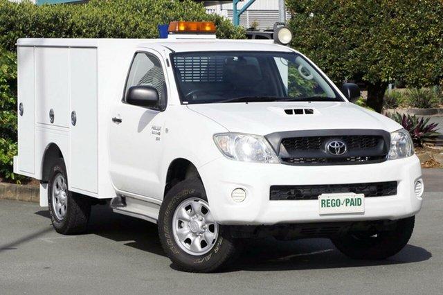 Used Toyota Hilux SR, Acacia Ridge, 2011 Toyota Hilux SR KUN26R MY10 Cab Chassis