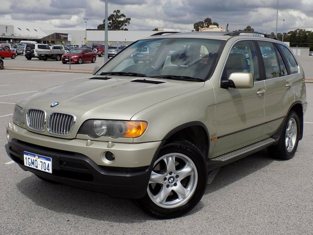 Used BMW X5 Steptronic, Maddington, 2002 BMW X5 Steptronic Wagon