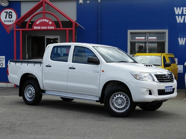 Discounted Used Toyota Hilux SR Double Cab, Welshpool, 2014 Toyota Hilux SR Double Cab Utility