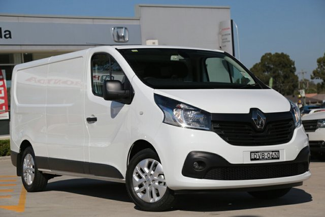 Discounted Demonstrator, Demo, Near New Renault Trafic 103KW Low Roof LWB, Narellan, 2017 Renault Trafic 103KW Low Roof LWB Van