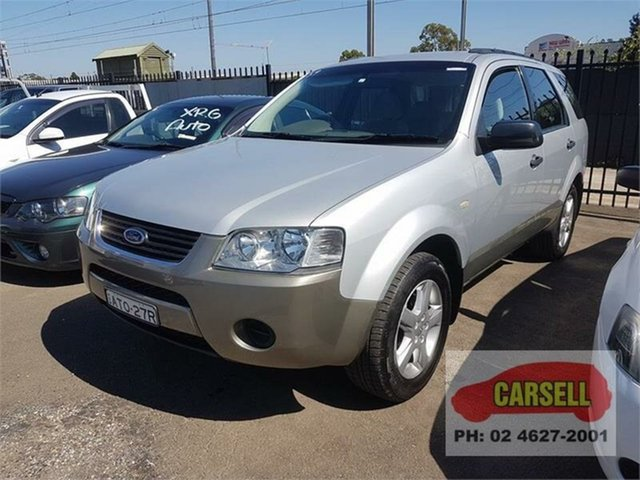 Used Ford Territory TS, Campbelltown, 2005 Ford Territory TS Wagon
