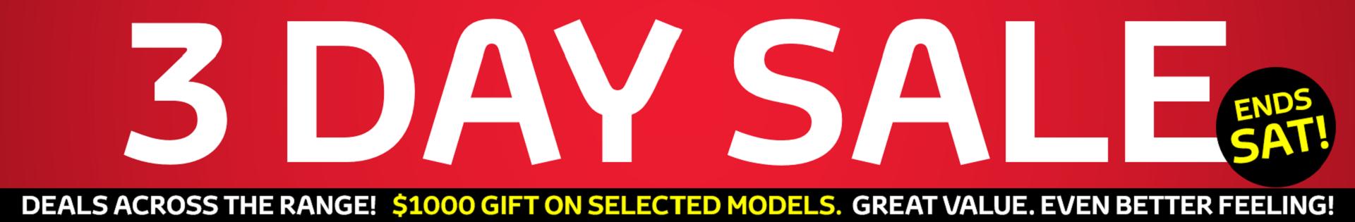 Toyota Specials Banner