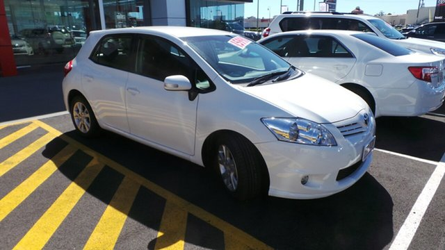 Used Toyota Corolla Ascent Sport, Morayfield, 2012 Toyota Corolla Ascent Sport Hatchback