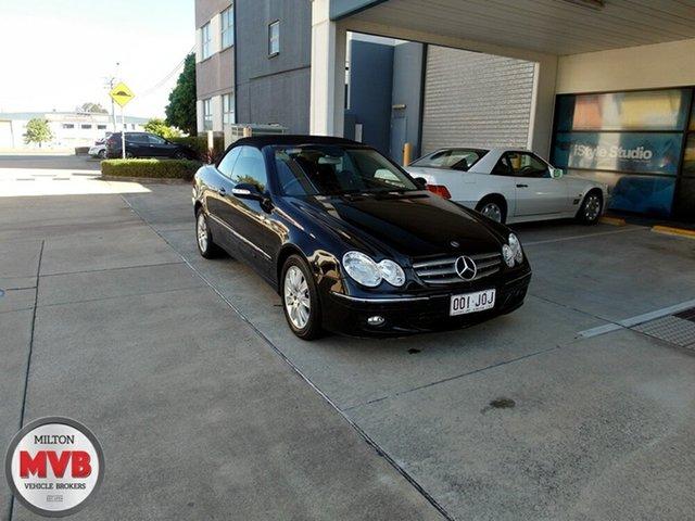 Used Mercedes-Benz CLK200K Elegance, Eagle Farm, 2006 Mercedes-Benz CLK200K Elegance Cabriolet