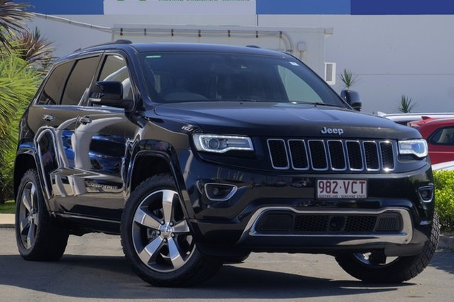 Used Jeep Grand Cherokee Overland, Bowen Hills, 2014 Jeep Grand Cherokee Overland Wagon