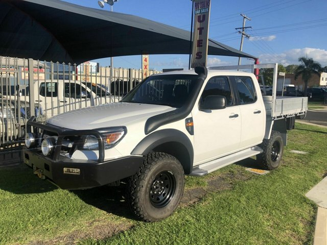 Used Ford Ranger XL (4x4), Toowoomba, 2009 Ford Ranger XL (4x4) Dual Cab Chassis