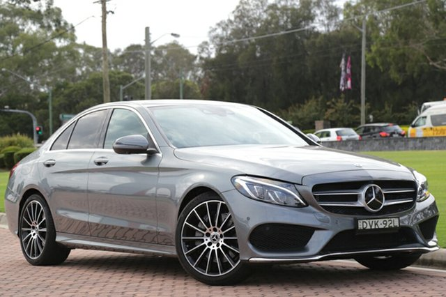 Discounted Used Mercedes-Benz C250 9G-TRONIC, Warwick Farm, 2017 Mercedes-Benz C250 9G-TRONIC Sedan