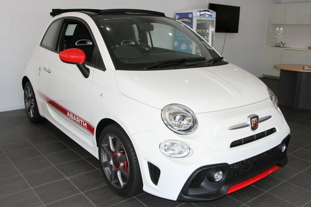 Demonstrator, Demo, Near New Abarth 595, Indooroopilly, 2017 Abarth 595 Convertible
