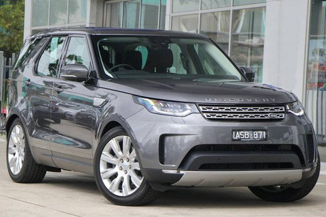 Demonstrator, Demo, Near New Land Rover Discovery TD6 HSE, Port Melbourne, 2017 Land Rover Discovery TD6 HSE Wagon