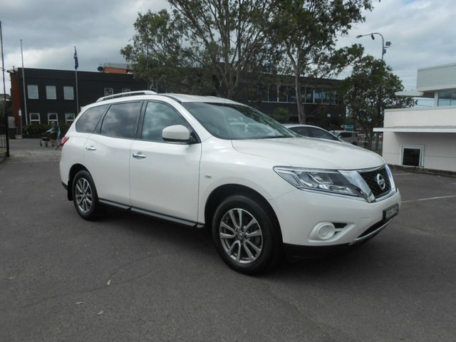Used Nissan Pathfinder ST X-tronic 2WD, Nowra, 2015 Nissan Pathfinder ST X-tronic 2WD Wagon