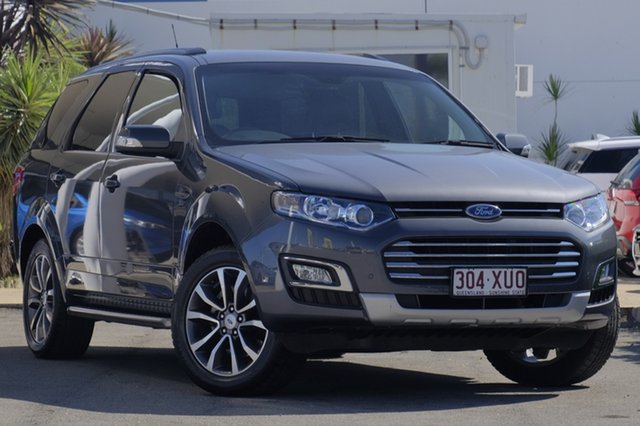 Used Ford Territory Titanium Seq Sport Shift, Bowen Hills, 2015 Ford Territory Titanium Seq Sport Shift Wagon