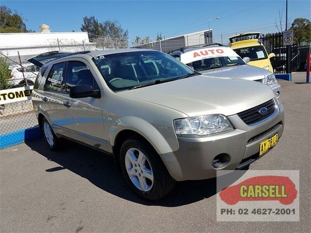 Used Ford Territory TS, Campbelltown, 2008 Ford Territory TS Wagon