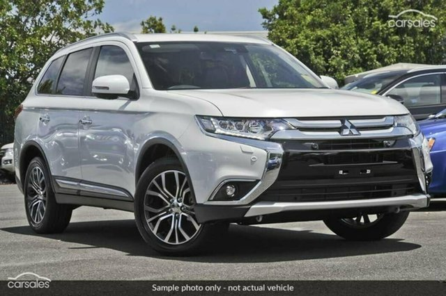 Demonstrator, Demo, Near New Mitsubishi Outlander Exceed 4WD, Nailsworth, 2017 Mitsubishi Outlander Exceed 4WD Wagon