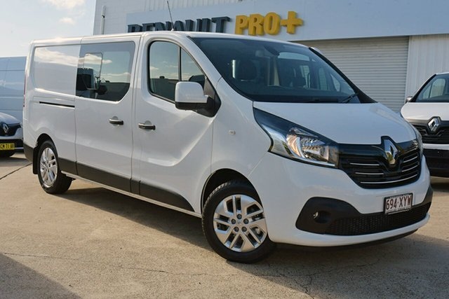 Discounted Demonstrator, Demo, Near New Renault Trafic Crew Low Roof LWB Lifestyle, Southport, 2017 Renault Trafic Crew Low Roof LWB Lifestyle Van