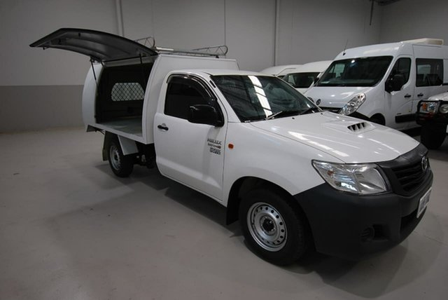 Used Toyota Hilux Workmate, Kenwick, 2015 Toyota Hilux Workmate Cab Chassis