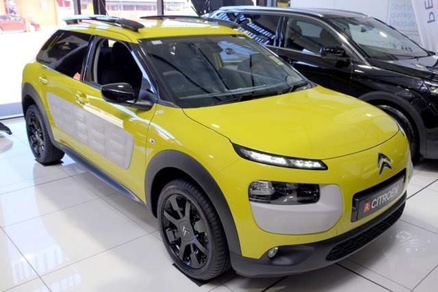 New Citroen C4 Cactus Exclusive, Bowen Hills, 2017 Citroen C4 Cactus Exclusive Wagon