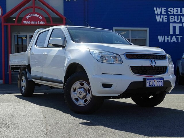 Discounted Used Holden Colorado LX Crew Cab, Welshpool, 2014 Holden Colorado LX Crew Cab Cab Chassis
