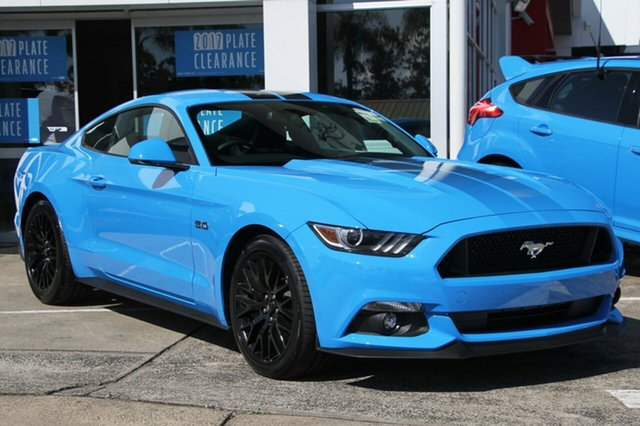 New Ford Mustang GT Fastback SelectShift, Beaudesert, 2017 Ford Mustang GT Fastback SelectShift Fastback