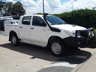 Used Toyota Hilux SR Double Cab, Acacia Ridge, 2014 Toyota Hilux SR Double Cab KUN26R MY14 Utility