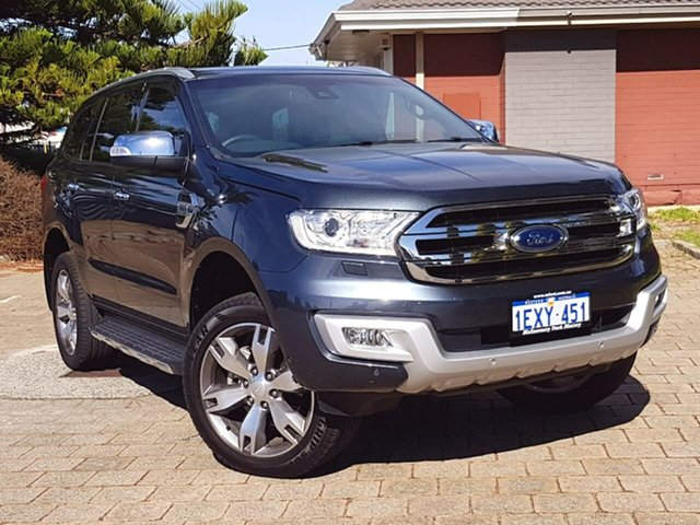 Used Ford Everest Titanium 4WD, Morley, 2015 Ford Everest Titanium 4WD Wagon