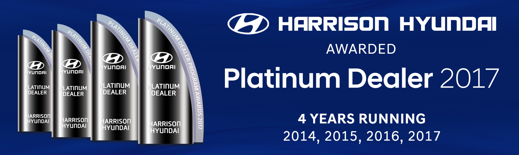 Harrison Hyundai Platinum Dealer