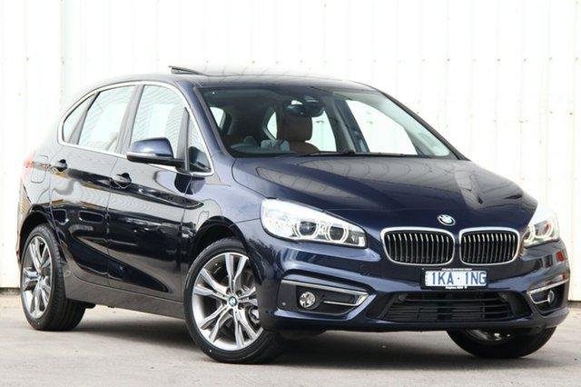Used BMW 218i Luxury Line Active Tourer Steptronic, Clayton, 2016 BMW 218i Luxury Line Active Tourer Steptronic Hatchback