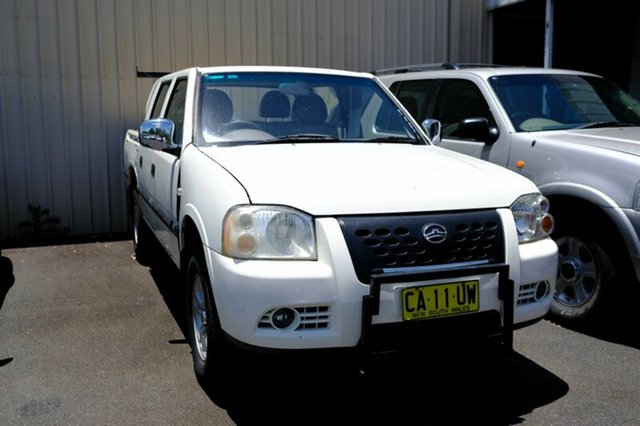 Used Great Wall SA220 Super Luxury, Lismore, 2009 Great Wall SA220 Super Luxury Utility
