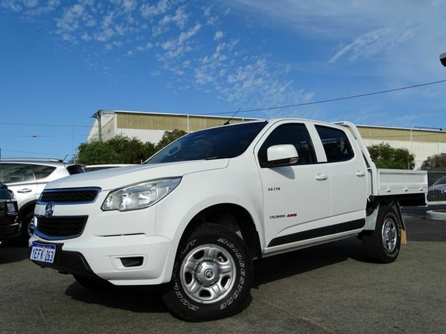 Discounted Used Holden Colorado LX Crew Cab, Welshpool, 2013 Holden Colorado LX Crew Cab Cab Chassis