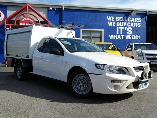 Used Ford Falcon EcoLPi Ute Super Cab, Welshpool, 2012 Ford Falcon EcoLPi Ute Super Cab Utility