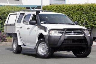 Used Mitsubishi Triton GLX Double Cab, Acacia Ridge, 2011 Mitsubishi Triton GLX Double Cab MN MY12 Utility