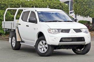 Used Mitsubishi Triton GL-R Double Cab, Acacia Ridge, 2012 Mitsubishi Triton GL-R Double Cab MN MY12 Utility