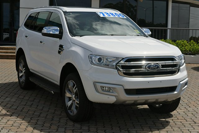 Discounted Demonstrator, Demo, Near New Ford Everest Titanium, Southport, 2017 Ford Everest Titanium SUV