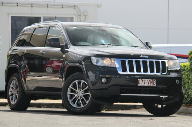 Used Jeep Grand Cherokee Overland, Bowen Hills, 2011 Jeep Grand Cherokee Overland Wagon