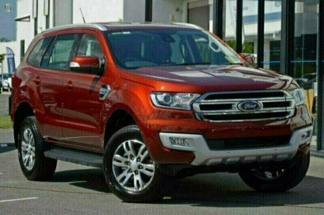 Demonstrator, Demo, Near New Ford Everest Trend 4WD, Warwick Farm, 2017 Ford Everest Trend 4WD Wagon