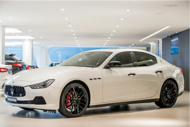 Discounted Demonstrator, Demo, Near New Maserati Ghibli S, Artarmon, 2017 Maserati Ghibli S Sedan