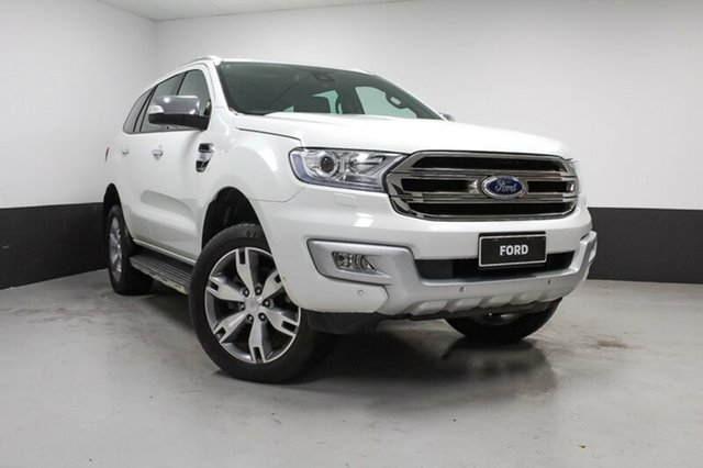 Used Ford Everest Titanium 4WD, Rutherford, 2015 Ford Everest Titanium 4WD Wagon