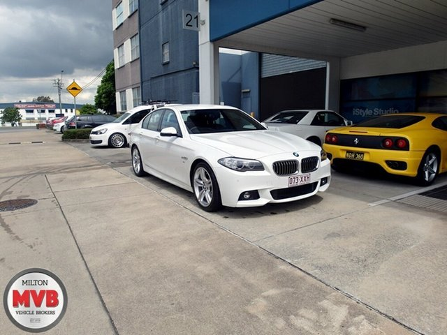 Used BMW 520D Luxury Line, Eagle Farm, 2015 BMW 520D Luxury Line Sedan
