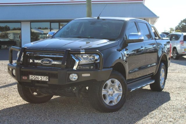 Used Ford Ranger XLT 3.2 HI-Rider (4x2), Southport, 2015 Ford Ranger XLT 3.2 HI-Rider (4x2) Crew Cab Pickup