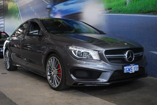 Used Mercedes-Benz CLA45 AMG SPEEDSHIFT DCT 4MATIC, Osborne Park, 2015 Mercedes-Benz CLA45 AMG SPEEDSHIFT DCT 4MATIC Coupe
