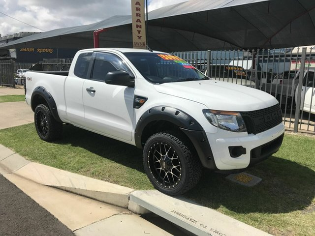 Used Ford Ranger XL 3.2 (4x4), Toowoomba, 2012 Ford Ranger XL 3.2 (4x4) Super Cab Utility