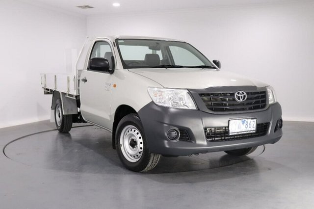 Used Toyota Hilux Workmate, 2012 Toyota Hilux Workmate TGN16R Cab Chassis