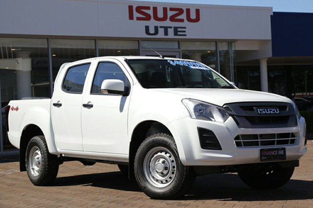 Discounted Demonstrator, Demo, Near New Isuzu D-MAX SX Crew Cab, Southport, 2017 Isuzu D-MAX SX Crew Cab Utility